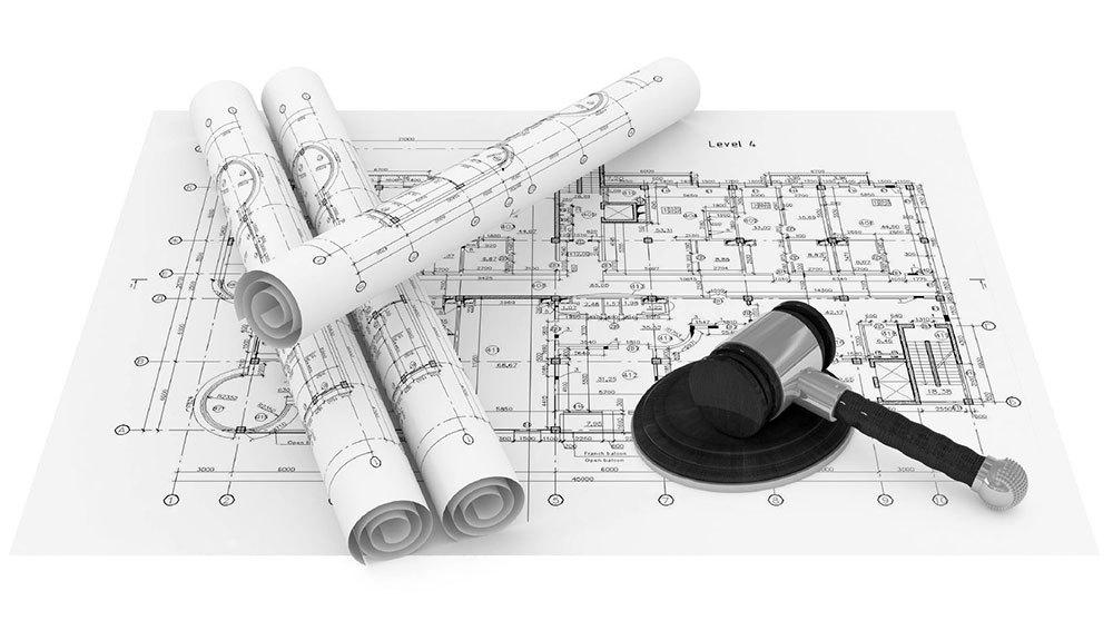 Bản thiết kế xây dựng công trình xin được cấp phép 1