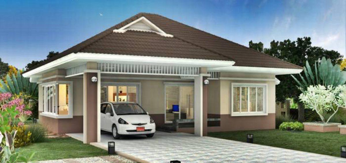 mẫu thiết kế kiến trúc biệt thự mini