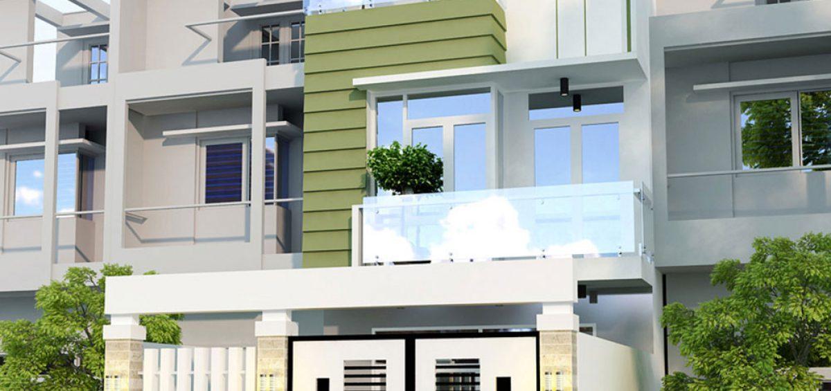 mẫu mặt tiền nhà phố đẹp