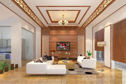 Thiết kế nội thất phòng khách cho biệt thự cần lưu ý những gì?